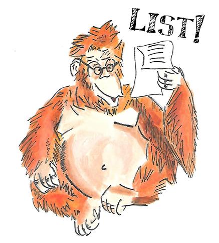 orangutan list