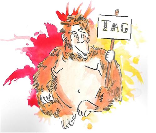 orangutan tag 2