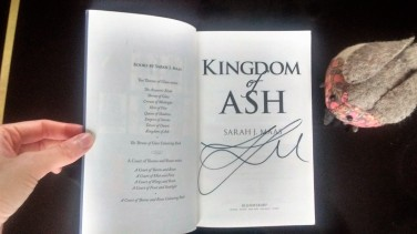 kingdom of ash signed