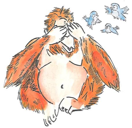orangutan birds