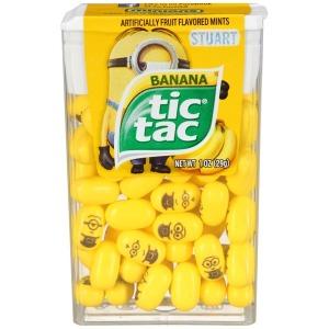 banana tic tacs
