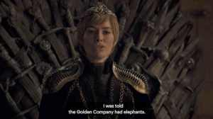 elephants game of thrones